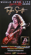 TAYLOR SWIFT, WORLD TOUR LIVE POSTER (D8)