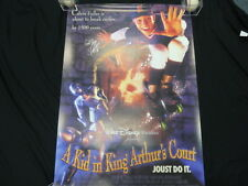 Thomas Ian Nicholas Signed A Kid In King Arthur's Court Poster PSA/DNA AB76588