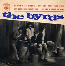 """BYRDS """"IT WON'T BE WRONG"""" ORIG PORT EP M- RARE 1966"""