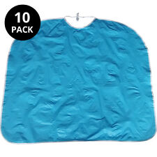 10x Large adult dribble bibs (blue)