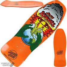 "SANTA CRUZ ""End of the World"" Jeff Kendall Skateboard Deck 10"" Orange Old Skool"