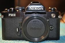 Nikon FM2 Black BODY film camera