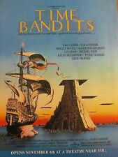 Time Bandits, John Cleese, Full Page Vintage Promotional Ad