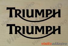 PEGATINA STICKER VINILO Triumph deposito aufkleber autocollant adesivi