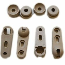 SET OF FOUR BOAT WINDSHIELD SUPPORT BRACKET ENDS