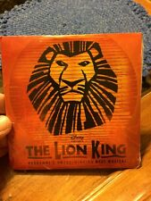 "(WALT) DISNEY PRESENTS ""THE LION KING - THE BROADWAY MUSICAL"" SOUVENIR PROGRAM"