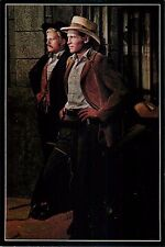 "Butch Cassidy and the Sundace Kid 4x6"" Postcard Movieland Wax Museum"
