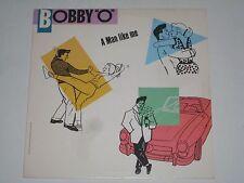 """BOBBY O-A MAN LIKE ME / PUMP IT UP RARE USA 12"""" SINGLE 1983 ORLANDO HI-NRG DISCO"""