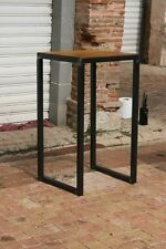 Table bistro mange debout meuble industriel  BROCANTETENDANCE meuble industriel