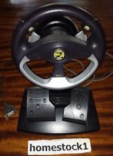 Saitek R100 Racing Wheel + Pedals PC Gaming [15-Pin Connector] LOOK - Ships FAST