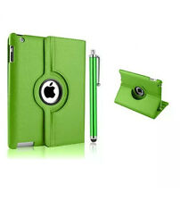 Leather 360 Degrees Rotating Smart Stand Case Cover For iPad Air & Air 2