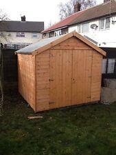 8x8 Double Door Garden Shed