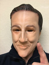 David Cameron Latex Mask UK British Prime Minister Overhead Fancy Party Masks