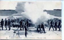 CP Militaria - L'Armée Française - Artillerie de Forteresse - Pièce, feu