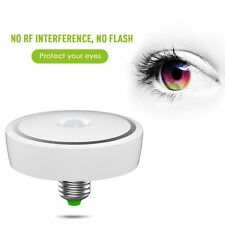 US E27 LED Infrared Motion Sensor Detection Light 12W Bulb Lamp Cool White
