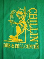 Vintage Spelling Bee & Bell Center Chillin High School T Shirt M