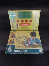 50s/60's MECCANO STYLE SET, Vintage CONSTRUCTION BUILDING KIT, Retro METAL PARTS