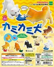 Epoch Capsule Animal Kamikami Shiba Inu Dog カミカミ犬 Completed Set 6pcs
