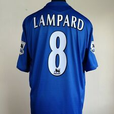 Chelsea Home Football Shirt Adult XL LAMPARD #8 2005/2006 CENTENARY