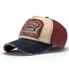 Nouveau unisexe casquette de baseball coton moto cap edge rectification ne vieux chapeau vente chaude