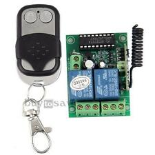 Universal Door Opener Remote Control Switch with Transmitter DC12V 433.92MHz New
