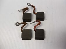 """NEW LOT OF 4 RCP CARBON MOTOR BRUSH 443E 1-13/16""""LENGTH 1-1/2""""WIDTH 5/8""""TH"""