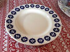 """Emma Bridgewater Bedales Blue Rose & Bee  10.5"""" Dinner Plate New"""