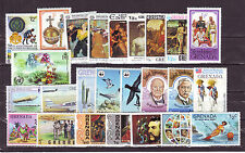 Grenada (America)-25 Diff. Used Good Condition Stamps #F35