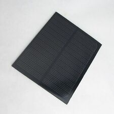 1PCS Solar Panel 6V 200ma 1.1W 109*8.4MM Large Power Single Crystal Silicon