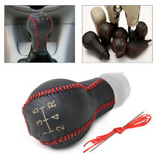 New Genuine Leather MT 5-Speed Gear Shift Knob Cover for Peugeot 106 206 306 307