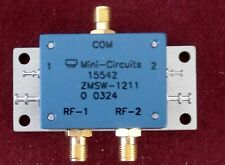 Mini Circuits 50 Ohm SPDT  10-2500 MHz Coaxial Switch **NEW**