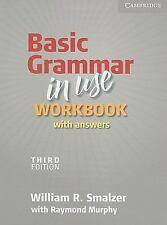 Basic Grammar in Use Workbook with Answers by William R. Smalzer (2010,...
