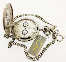 Colibri 500 Series 24-Hour Date Chronograph Pocket Watch PWQ-96801, NEW