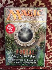 Magic the Gathering NEW SEALED Portal Starter Set for Two w/Booster Pack