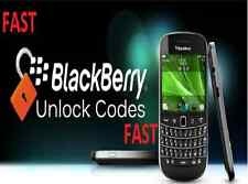 Unlock Service Code for Blackberry Wind 9100 9300 9700 9780 Only  (Fast)