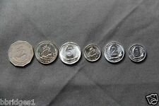 Eastern East Caribbean 6 Coin Set - 1 2 5 10 25 Cent & 1 Dollar - Circulated