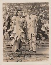 Xavier Cugat / Lina Romay Autograph , Original Hand Signed Photo