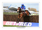 CUE CARD PADDY BRENNAN AINTREE 2016 HORSE RACING A4 PRINT PHOTO BOWL CHASE