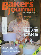 2004 Bakers Journal - Chocolate Box Cake Recipe; 10 Tools for Wedding Cakes