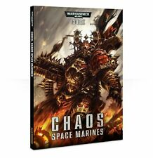 CODEX : CHAOS SPACE MARINE  - WARHAMMER 40,000 - GAMES WORKSHOP - DAMAGED