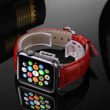 Genuine Leather Buckle Wrist Watch Strap Band Belt for iWatch Apple Watch2 42mm
