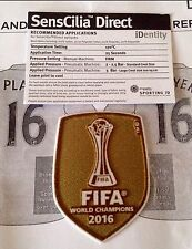 2016 RM Fifa Football World Club Champion SportingiD LEXTRA Soccer Badge Patch