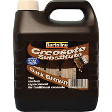 Bartoline Creocote Oil Based Wood Treatment 4L Dark