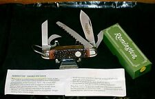 """Remington R4 Survival Camping Knife """"Camillus SFO"""" UMC Shield W/Packaging,Papers"""