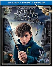 Fantastic Beasts and Where to Find Them 3D (2D/3D Blu-ray/Digital) w/ Slipcover