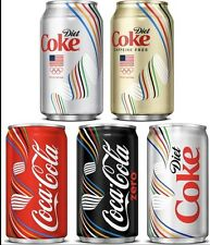 NEW 2016 Rio Olympics USA Release Coca- Cola cans