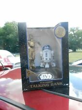 NRFB 1995 STAR WARS ELECTRONIC TALKING BANK - R2D2 & C3PO (S16)