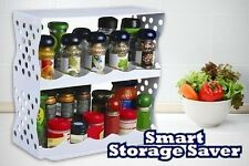 Smart Storage Saver Space Saving Kitchen Organizer Slides Out & Rotates 360 New