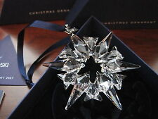 Swarovski Crystal 2007 Annual Christmas LARGE STAR Snowflake Ornament