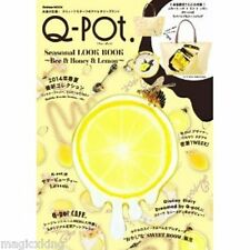 Q-pot Seasonal Look Book Bee & Honey Magazine Collection w Bag Very RARE